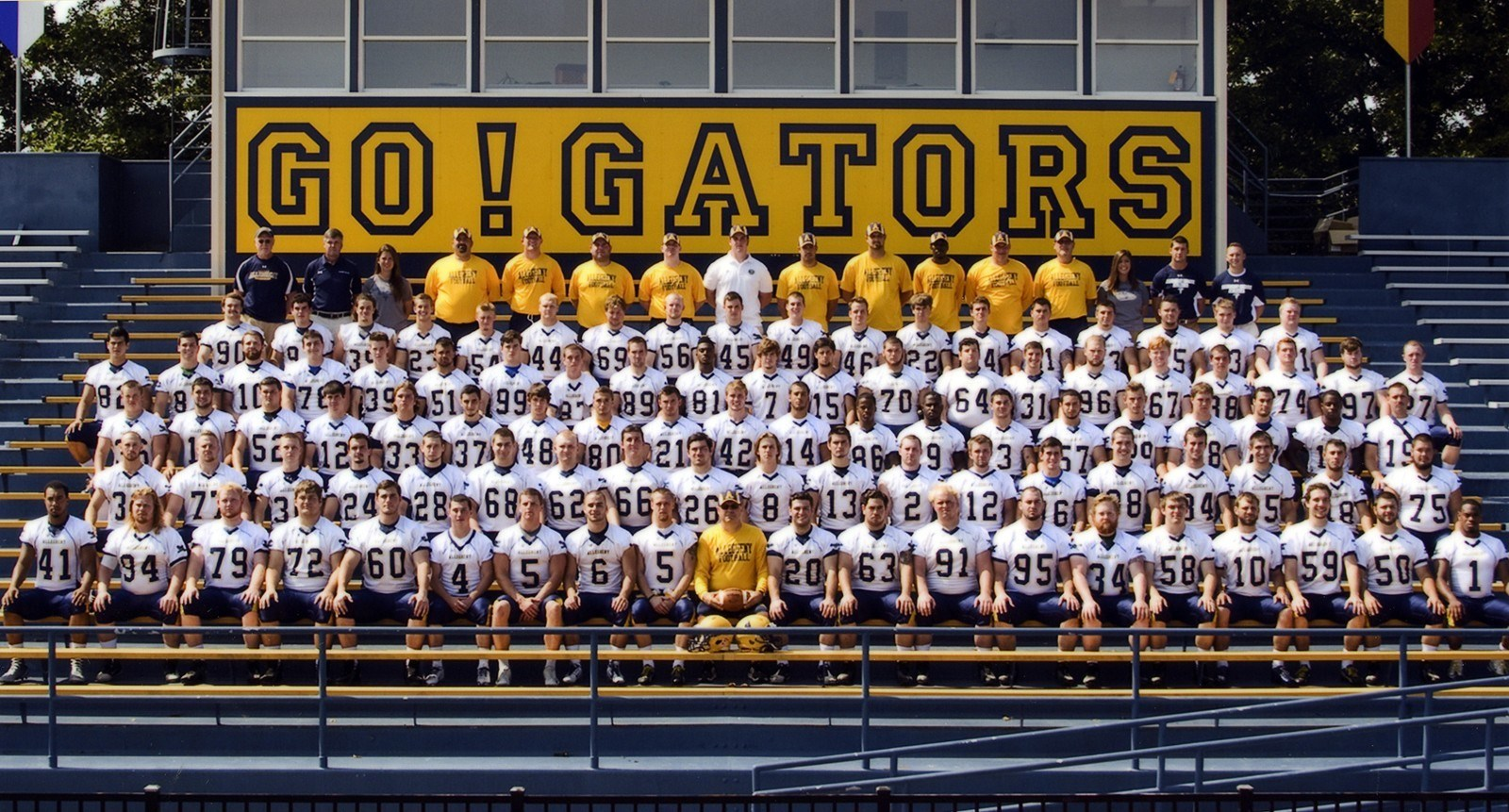 2014 Football Roster Allegheny College Athletics